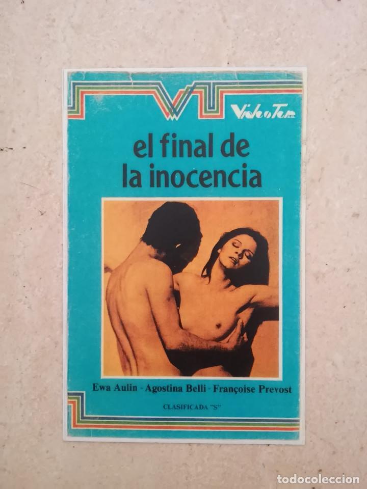 REPRODUCCION -9*13- EL FINAL DE LA INOCENCIA - ALBUM - CLASIFICADA S - AGOSTINA BELLI (Cine - Reproducciones de carteles, folletos...)