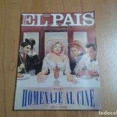 Cine: EL PAIS SEMANAL Nº 214 - 26/03/95 - EXTRA HOMENAJE AL CINE - FERNÁN GÓMEZ, CLÁSICOS, ESPAÑOLAS. Lote 112544675