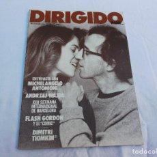Cine: DIRIGIDO POR... Nº 78: JOHN CASSAVETES. MANOLO GUTIERREZ. CINE FANTASTICO. SAN SEBASTIAN 77. Lote 222331506