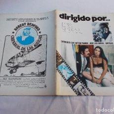 Cine: DIRIGIDO POR... Nº 26: ENTREVISTA CON ANTONIO PADROS. LUIS BUÑUEL. JOSE LUIS BORAU. CRITICAS. Lote 222332663