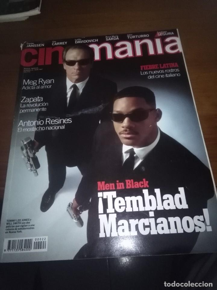 CINEMANIA. NÚMERO 22 JULIO 1997. MEN IN BLACK. TEMBLAD MARCIANOS. .. B12R (Cine - Revistas - Cinemanía)