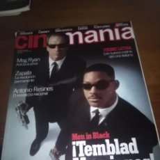 Cine: CINEMANIA. NÚMERO 22 JULIO 1997. MEN IN BLACK. TEMBLAD MARCIANOS. .. B12R. Lote 112765163