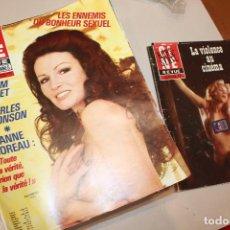 Cine: LOTE CINE REVUE, AÑO 1978, FALTAN 2 NÚMEROS DE UN TOTAL DE 52 REVISTAS, SE AÑADEN DOS HORS SERIE. Lote 112776987