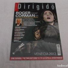 Cinéma: DIRIGIDO POR... Nº 437: ROGER CORMAN (2). VENECIA 2013. INSIDIOUS. EL MAYORDOMO. CAPITAN PHILLIPS.. Lote 221266427