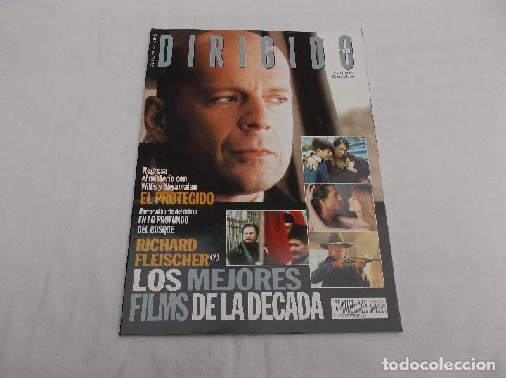 DIRIGIDO POR... Nº 297: RICHARD FLEISCHER (2). LOS MEJORES FILMS DE LA DECADA. EL PROTEGIDO. (Cine - Revistas - Dirigido por)