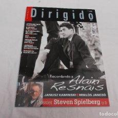 Cine: DIRIGIDO POR... Nº 443. RECORDANDO A ALAIN RESNAIS. STEVEN SPIELBERG (Y 2). JANUSZ KAMINSKI. MIKLOS.. Lote 112926619