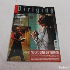 Cine: DIRIGIDO POR... Nº 358: DOSSIER NUEVO CINE DE TERROR, DIEZ DIRECTORES FUNDAMENTALES DEL GENERO. . Lote 112926991