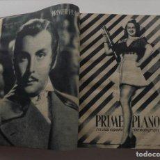 Cine: 1945-1946, 74 REVISTAS PRIMER PLANO ENCUADERNADAS EN UN TOMO, NÚMEROS 233 A 307. Lote 112938327