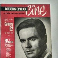 Cine: REVISTA NUESTRO CINE Nª 11.- MAYO 1962. Lote 112989447