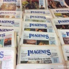 Cine: LOTE 20 REVISTAS IMAGENES DE ACTUALIDAD - AÑO 1987 EN BUEN ESTADO.. Lote 113077439