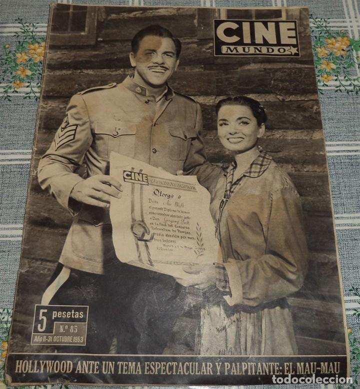 Cine: CINE MUNDO 3 REVISTAS GINA LOLLOBRIGIDA AMPARITO RIVELLES JOHN HUSTON FUTBOL VALENCIA CAMPEON - Foto 4 - 113121967