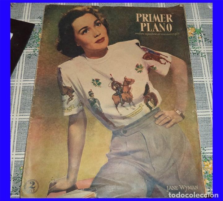 PRIMER PLANO 1947 N.º 376 LANA TURNER SHIRLEY TEMPLE JEAN SIMMONS GILDA ANAN TOOD (Cine - Revistas - Primer plano)