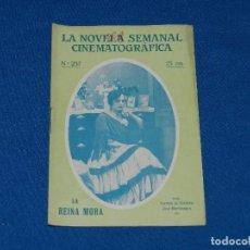 Cinema: (M) LA NOVELA SEMANAL CINEMATOGRAFICA NUM 237 , SEÑALES DE USO. Lote 113180491