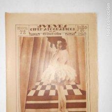 Cine: REVISTA JUEVES CINEMATOGRÁFICOS Nº 72 DEL 19 JULIO 1928 - FOTOS DE TODAS LAS PÁGINAS -. Lote 113328055