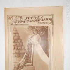 Cine: REVISTA JUEVES CINEMATOGRÁFICOS Nº 55 DEL 22 MARZO 1928 - FOTOS DE TODAS LAS PÁGINAS -. Lote 113328295