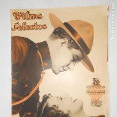 Cine: REVISTA FILMS SELECTOS Nº 267 - 18 ABRIL 1936 - PORTADA JEANETTE MAC DONALD - 24 PÁGINAS - VER FOTOS. Lote 113330511