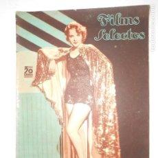 Cine: REVISTA FILMS SELECTOS Nº 306 - 7 NOVIEMBRE 1936 - PORTADA IDA LUPINO - 24 PÁGINAS - VER FOTOS. Lote 113332795
