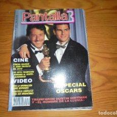 Cine: PANTALLA 3 Nº 74, ABRIL 1989. ESPECIAL OSCARS ; CONCHA VELASCO. Lote 113347627