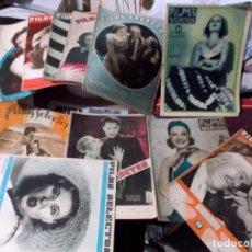 Cine: LOTE DE 15 REVISTAS DE CINE BIEN CONSERVADAS VER FOTOS. Lote 113431135