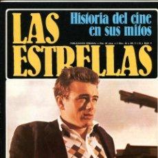 Cine: AVA GARDNER. EN 15 PÁGINAS Y JAMES DEAN 5 PÁGINAS DE LA REVISTA LAS ESTRELLAS, 1980.. Lote 222283281