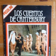 Cine: REVISTA, FILM DOCUMENTO, LOS CUENTO DE CANTERBURY, PASOLINI 1977 CINE - REVISTAS - OTROS. Lote 113522127