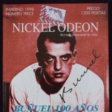 Cine: NICKEL ODEÓN. REVISTA TRIMESTRAL DE CINE. Nº 13 (MONOGRÁFICO LUIS BUÑUEL) - VV.AA.. Lote 113742099