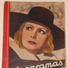 Cine: CINEGRAMAS #18 1935 GRETA GARBO CLAUDETTE COLBERT GINGER ROGERS CHARLES CHAPLIN REVISTA. Lote 113818747
