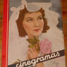 Cine: CINEGRAMAS #66 1935 JEAN PARKER GINGER ROGERS FRED ASTAIRE GLADYS SWARTHOUT REVISTA CINE. Lote 113818907