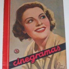 Cine: CINEGRAMAS #35 1935 LILIAN BOND SHIRLEY TEMPLE ANA STEN MAE WEST ELISSA LANDI REVISTA CINE. Lote 113819083