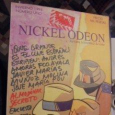 Cine: NICKEL ODEON Nº 1 UNO - ALMODOVAR - QUE GRANDE ES EL CINE ESPAÑOL - STOCK DE LIBRERIA SIN USAR 1995. Lote 114013159