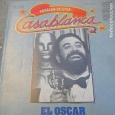 Cine: CASABLANCA PAPELES DE CINE Nº 29 1983- LOS OSCAR '83- EL CRISTAL OSCURO JIM HENSON- JESSICA LANGE- L. Lote 114027687