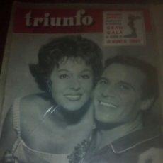 Cine: PAQUITA RICO REVISTA TRIUNFO 1959. Lote 114068232