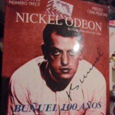 Cine: NICKEL ODEON 13 TRECE / LUIS BUÑUEL - ¡¡ A ESTRENAR STOCK DE LIBRERIA !!. Lote 114085495