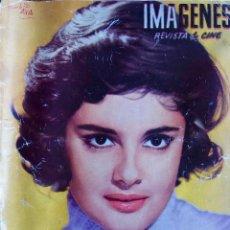 Cine: IMAGENES. REVISTA DE CINE. FEBRERO 1959. ROSADA PODESTA.. Lote 114322983