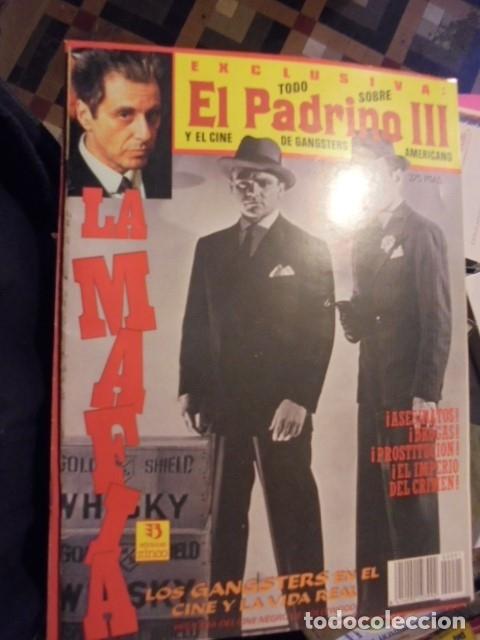 EL PADRINO III Y EL CINE NEGRO GANGSTERS DE HOLLYWOOD - ED ZINCO 1991 - ENVIO GRATIS (Cine - Revistas - Otros)