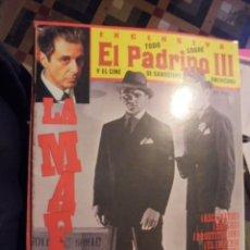 Cine: EL PADRINO III Y EL CINE NEGRO GANGSTERS DE HOLLYWOOD - ED ZINCO 1991 - ENVIO GRATIS. Lote 114356459