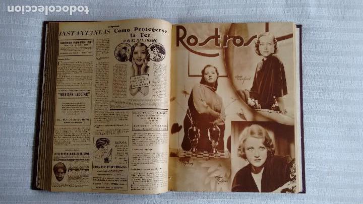 Cine: CINEGRAMAS. COLECCIÓN COMPLETA DE 97 REVISTAS DE CINE. 4 VOLÚMENES. MADRID, 1934-36. - Foto 7 - 114564215