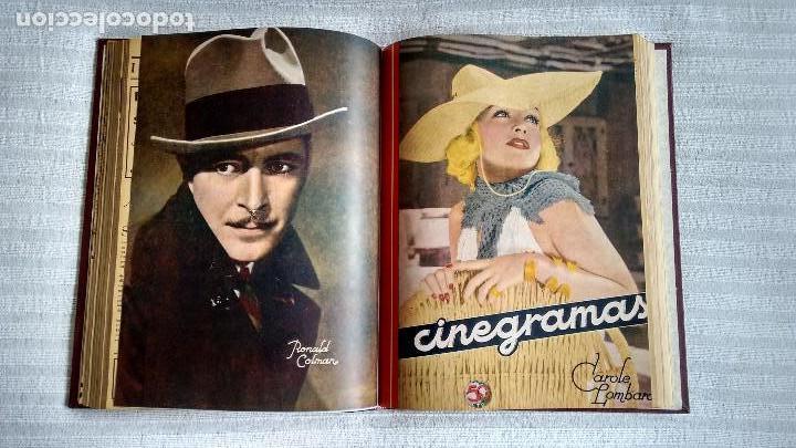Cine: CINEGRAMAS. COLECCIÓN COMPLETA DE 97 REVISTAS DE CINE. 4 VOLÚMENES. MADRID, 1934-36. - Foto 8 - 114564215