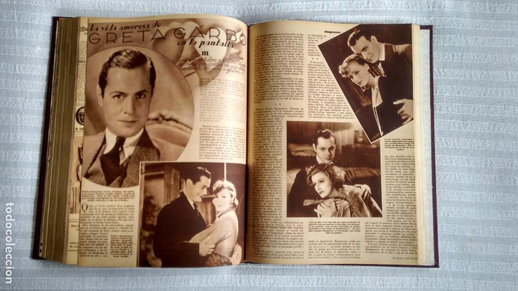 Cine: CINEGRAMAS. COLECCIÓN COMPLETA DE 97 REVISTAS DE CINE. 4 VOLÚMENES. MADRID, 1934-36. - Foto 9 - 114564215
