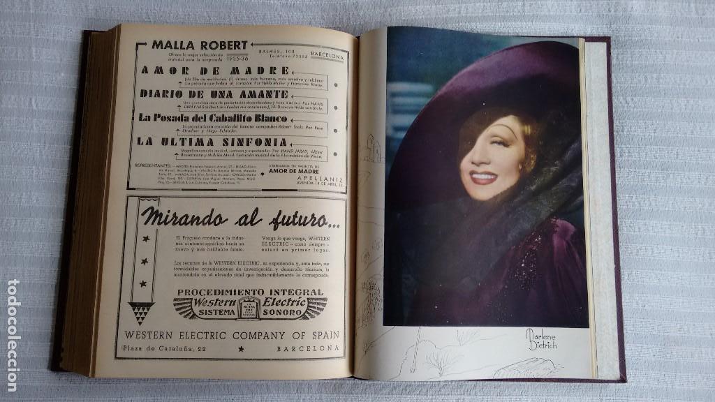 Cine: CINEGRAMAS. COLECCIÓN COMPLETA DE 97 REVISTAS DE CINE. 4 VOLÚMENES. MADRID, 1934-36. - Foto 11 - 114564215
