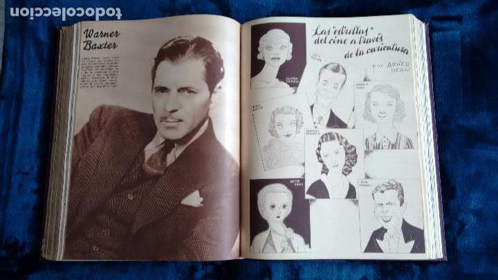 Cine: CINEGRAMAS. COLECCIÓN COMPLETA DE 97 REVISTAS DE CINE. 4 VOLÚMENES. MADRID, 1934-36. - Foto 12 - 114564215