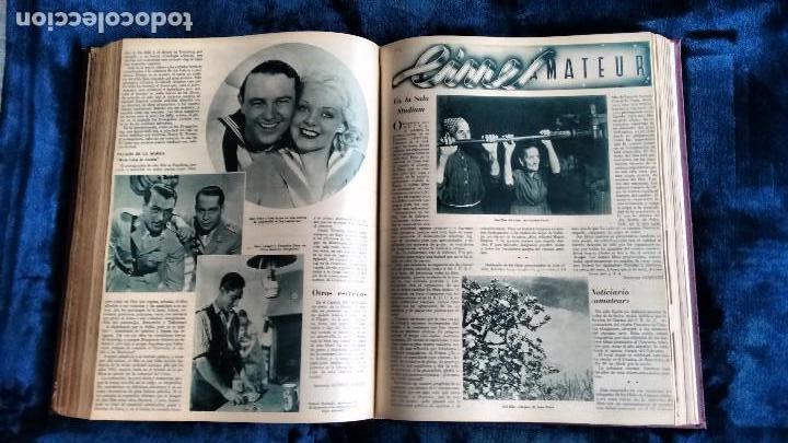 Cine: CINEGRAMAS. COLECCIÓN COMPLETA DE 97 REVISTAS DE CINE. 4 VOLÚMENES. MADRID, 1934-36. - Foto 13 - 114564215