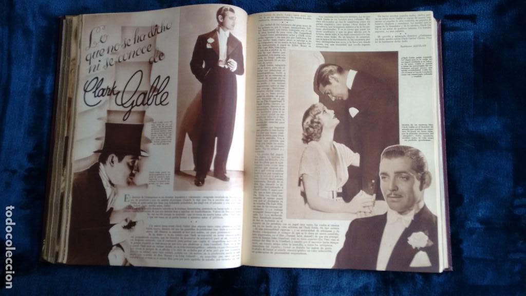 Cine: CINEGRAMAS. COLECCIÓN COMPLETA DE 97 REVISTAS DE CINE. 4 VOLÚMENES. MADRID, 1934-36. - Foto 16 - 114564215