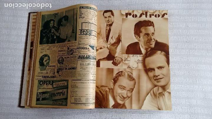 Cine: CINEGRAMAS. COLECCIÓN COMPLETA DE 97 REVISTAS DE CINE. 4 VOLÚMENES. MADRID, 1934-36. - Foto 19 - 114564215