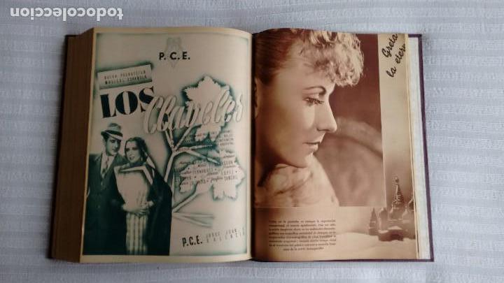Cine: CINEGRAMAS. COLECCIÓN COMPLETA DE 97 REVISTAS DE CINE. 4 VOLÚMENES. MADRID, 1934-36. - Foto 24 - 114564215