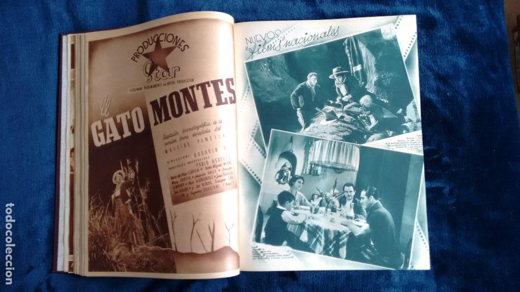 Cine: CINEGRAMAS. COLECCIÓN COMPLETA DE 97 REVISTAS DE CINE. 4 VOLÚMENES. MADRID, 1934-36. - Foto 26 - 114564215