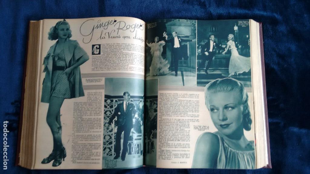 Cine: CINEGRAMAS. COLECCIÓN COMPLETA DE 97 REVISTAS DE CINE. 4 VOLÚMENES. MADRID, 1934-36. - Foto 31 - 114564215