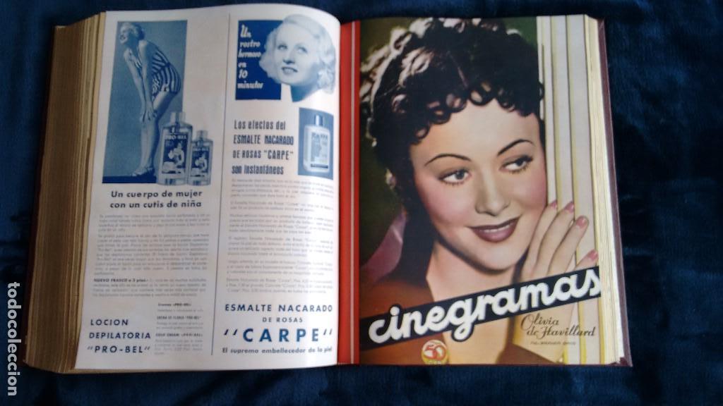 Cine: CINEGRAMAS. COLECCIÓN COMPLETA DE 97 REVISTAS DE CINE. 4 VOLÚMENES. MADRID, 1934-36. - Foto 32 - 114564215