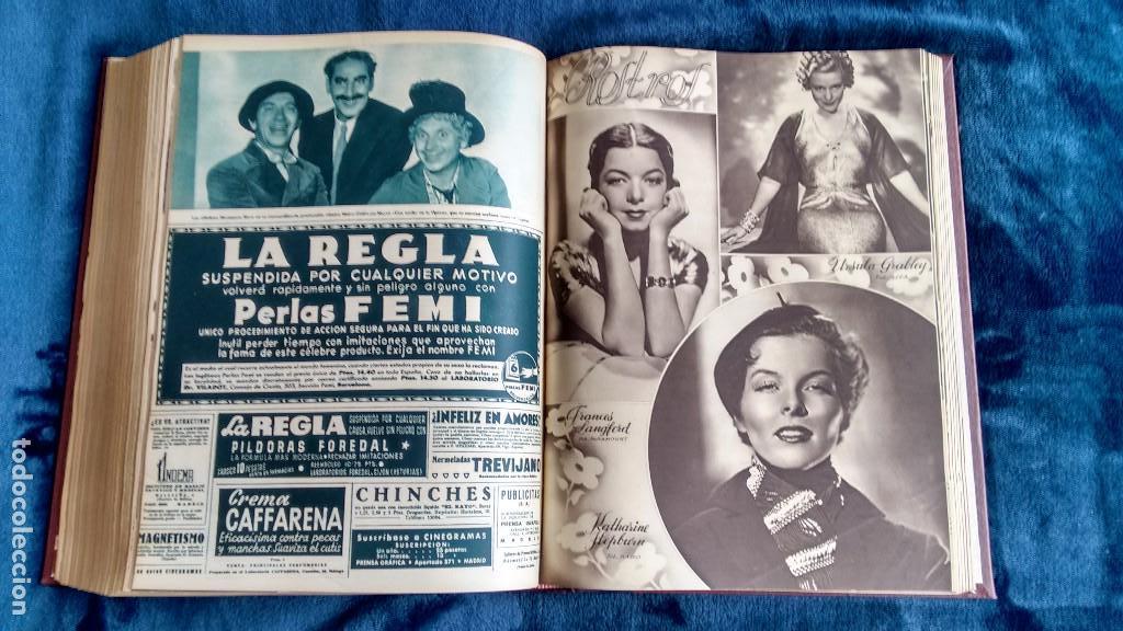 Cine: CINEGRAMAS. COLECCIÓN COMPLETA DE 97 REVISTAS DE CINE. 4 VOLÚMENES. MADRID, 1934-36. - Foto 33 - 114564215