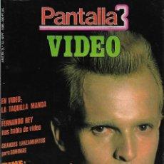 Cine: PANTALLA3, AÑO IV. Nº 32. SEPTIEMBRE. 1.985. MIGUEL BOSE. REVISTA DESCATALOGADA MUY DIFICIL.. Lote 114689207